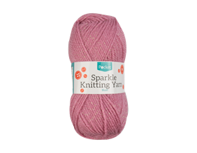 Wholesale Sparkle Blush Acrylic Knitting Yarn 50g | Gem Imports Ltd