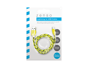 Wholesale iPhone Braided USB Cables | Gem Imports Ltd