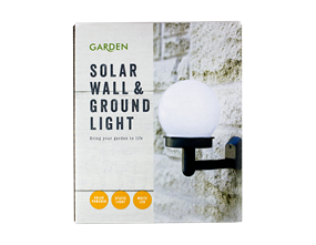 Solar Wall And Ground Light