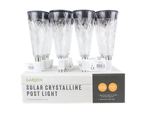 Wholesale Solar Crystal Effect Lights | Gem Imports Ltd