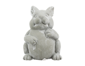 Wholesale Cement Rabbit and Owl Decor | Gem Imports Ltd