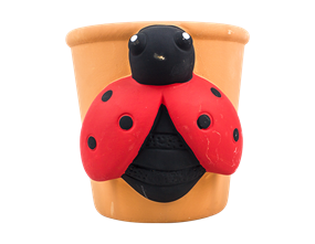 Wholesale Small Wall Insect Planters | Gem Imports Ltd