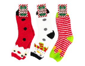 Ladies Cosy Christmas Socks