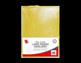 Large Padded Envelopes 27cm x 36cm - 2 Pack