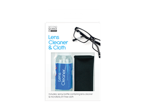 Glasses Lens Cleaner & Cloth Set 30ml