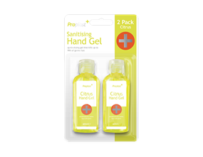 Hand Sanitising Gel 60ml - 2 pack