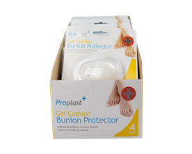 Gel Bunion Protectors - 4 Pack