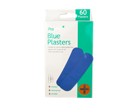 Wholesale Blue Plasters | Gem Imports Ltd