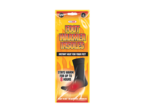 Wholesale Foot Warmer Insoles | Gem Imports Ltd