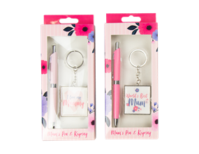 Wholesale Mothers Day Pen & Keyring Gift Sets | Gem Imports Ltd