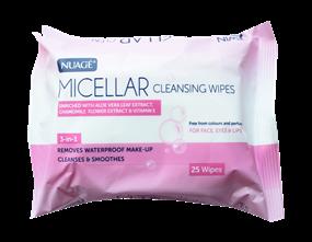 Wholesale Nuage 3 in 1 Micellar Wipes | Gem Imports Ltd