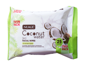 Wholesale Nuage Coconut Water Wipes | Gem Imports Ltd