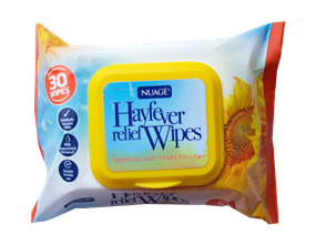 Wholesale Nuage Hayfever Relief Wipes | Gem Imports Ltd