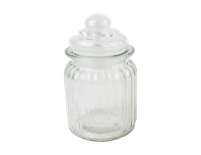 Glass Storage Jar 275ml
