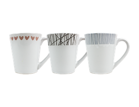 Wholesale V Shaped Mugs | Gem Imports Ltd