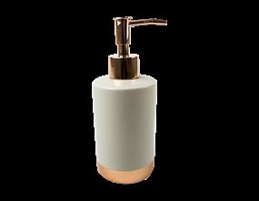 Sandstone & Copper Soap Dispenser