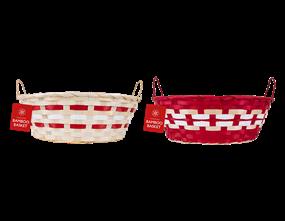 Wholesale Oval Christmas Baskets   Gem Imports Ltd