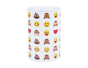 Wholesale Emoticon Money Tins | Gem Imports Ltd