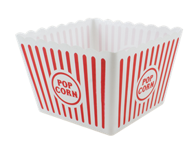 Large Plastic Popcorn Holder