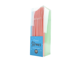 Wholesale Plastic Flexible Straws | Gem Imports Ltd