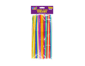 Wholesale Jumbo Plastic Flexible Straws | Gem Imports Ltd