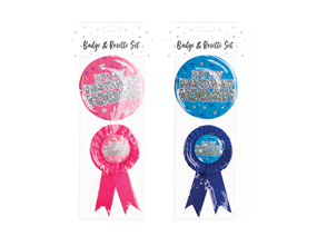 Wholesale Birthday Party Badge Sets | Gem Imports Ltd