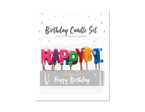 Wholesale Happy Birthday Candle Sets | Gem Imports Ltd