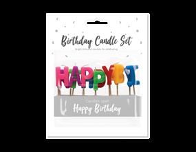Wholesale Happy Birthday Candle Sets | Gem Imports Ltd