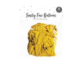 Wholesale Smiley Face Balloons | Gem Imports Ltd