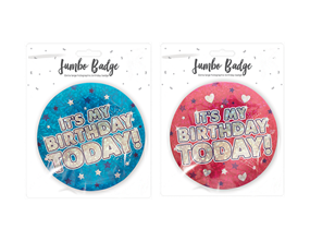 Wholesale Happy Birthday Badges | Gem Imports Ltd