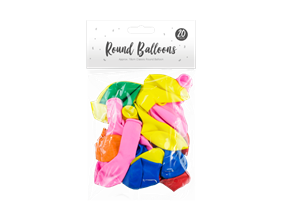 Wholesale Round Balloons | Gem Imports Ltd