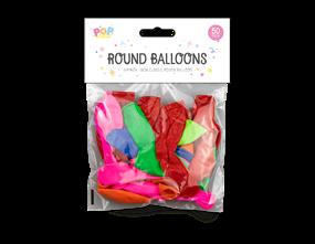 Wholesale Round Balloons | Gem Imports Ltd