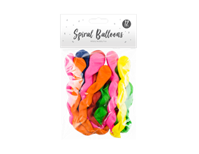 Wholesale Spiral Balloons | Gem Imports Ltd