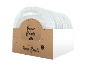Wholesale Disposable White Paper Bowls | Gem Imports Ltd