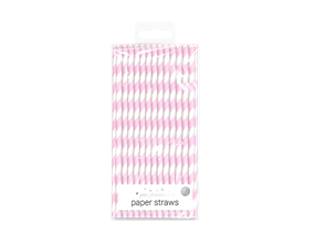 Pastel Paper Straws - 40 Pack