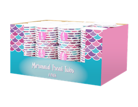 Mermaid Party Treat Tubs - 8 Pack