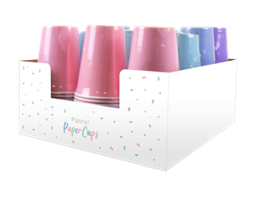 Pastel Disposable Paper Cups