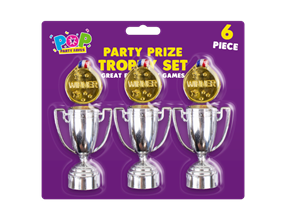 Wholesale Party Trophy & Medals Sets | Gem Imports Ltd