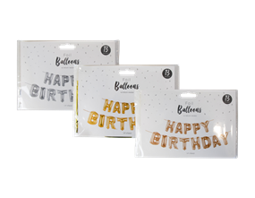 Wholesale Happy Birthday Foil Balloons | Gem Imports Ltd