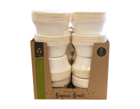 Wholesale Biodegradable Bagasse Bowls | Gem Imports Ltd
