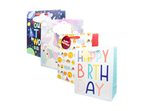Wholesale Kids Luxury Medium Gift Bags | Gem Imports Ltd