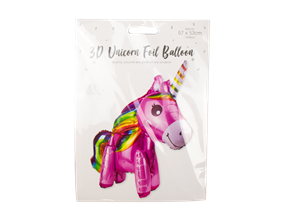 Wholesale Unicorn 3D Foil Balloons | Gem Imports Ltd