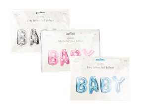 Wholesale Baby Foil Balloons | Gem Imports Ltd