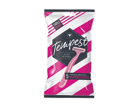 Ladies Disposable Triple Blade Razors - 5 Pack
