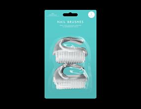 Nail Brushes - 2 Pack
