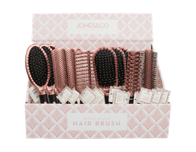 Wholesale Rose Gold Hair Brushes | Gem Imports Ltd