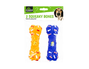 Wholesale Squeaky Bone Dog Toys | Gem imports Ltd