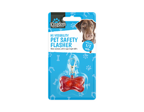 Wholesale Hi-visibility Pet Safety Flashers | Gem Imports Ltd