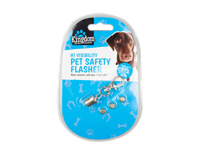 Wholesale Hi Visibility Pet Safety Flashers | Gem Imports Ltd