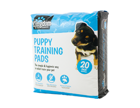Puppy Training Pads - 20 Pack